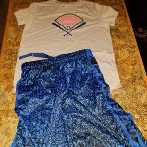 Under armour heat gear shorts outfit